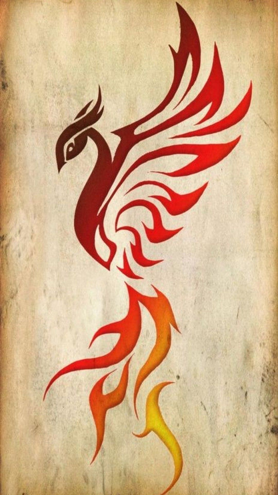Wallpaper iPhone Phoenix