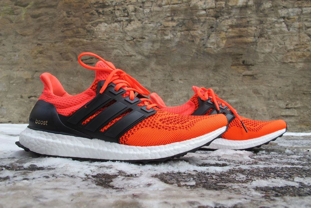 Adidas Boost Red And Blue