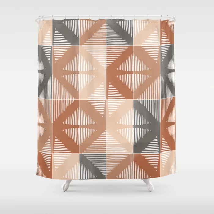 Buy Mudcloth Tiles 01 #society6 #pattern #shower #curtain by #designdn #Worldwide #shipping available at society6.com/designdn Just one of millions of high quality products available. #homedecor #interiordesign #dormdecor #dormgoals #shopping #buyart #bathroom #bathroomdecor #giftideas #patterndesign #findyourthing #walltiles #rustictones #mudcloth #tiles