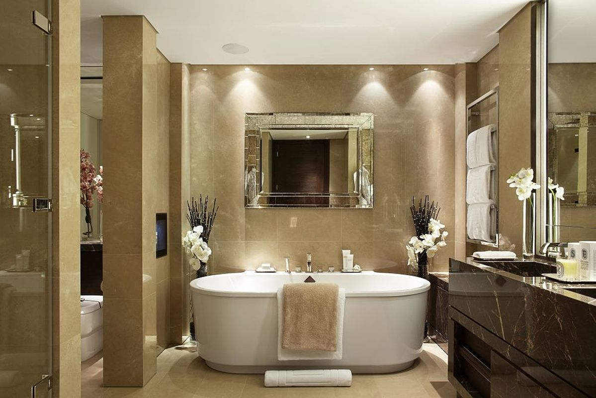 Take a look inside 39 one hyde park 39 park luxury and for Park designs bathroom accessories