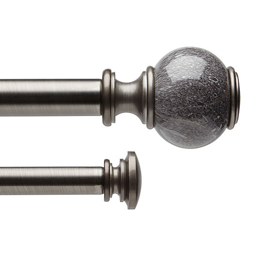Double Curtain Rods Double Curtain Rod Sets Jcpenney Double
