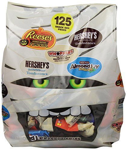 Hershey's Halloween Assortment Eat out of the Mummy.