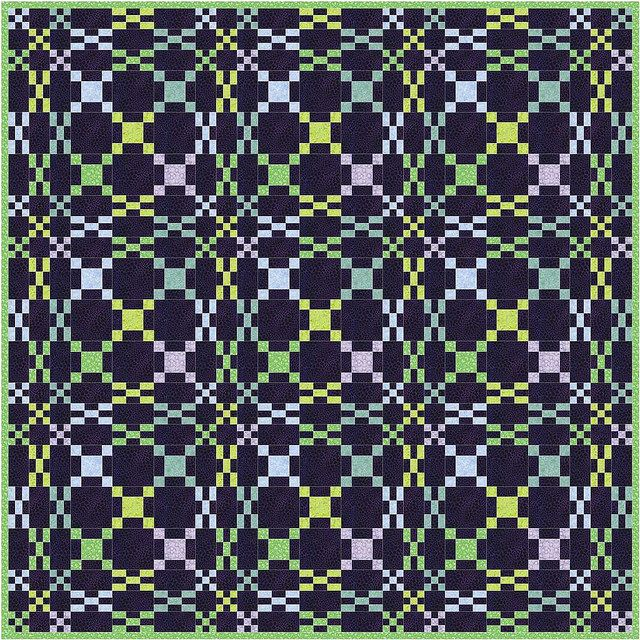 Rolling Waves by Piecemeal Quilts. It's like an Irish Chain on ... : piecemeal quilts - Adamdwight.com
