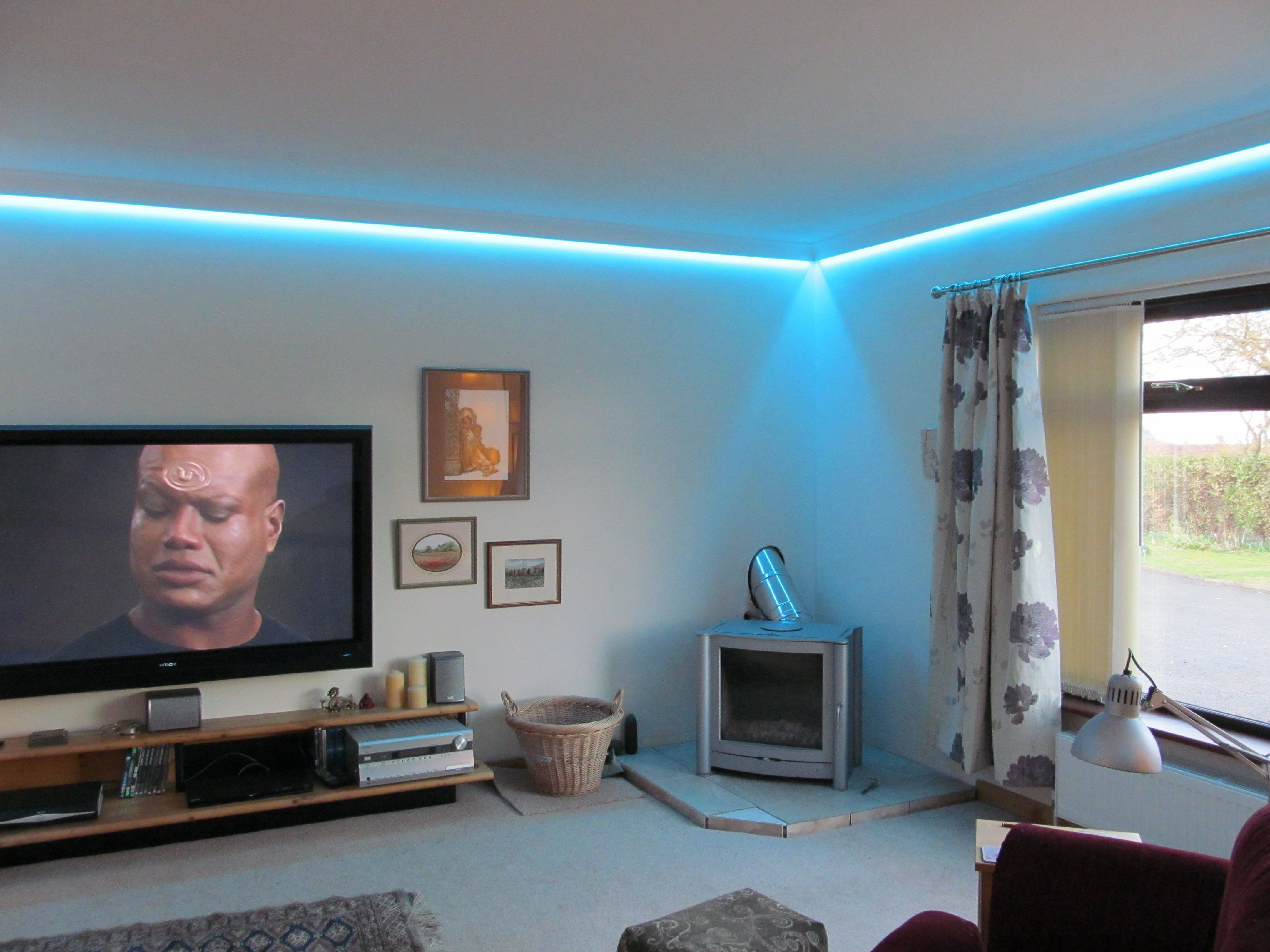 Starscape LED wall wash lighting Project Dormitorios