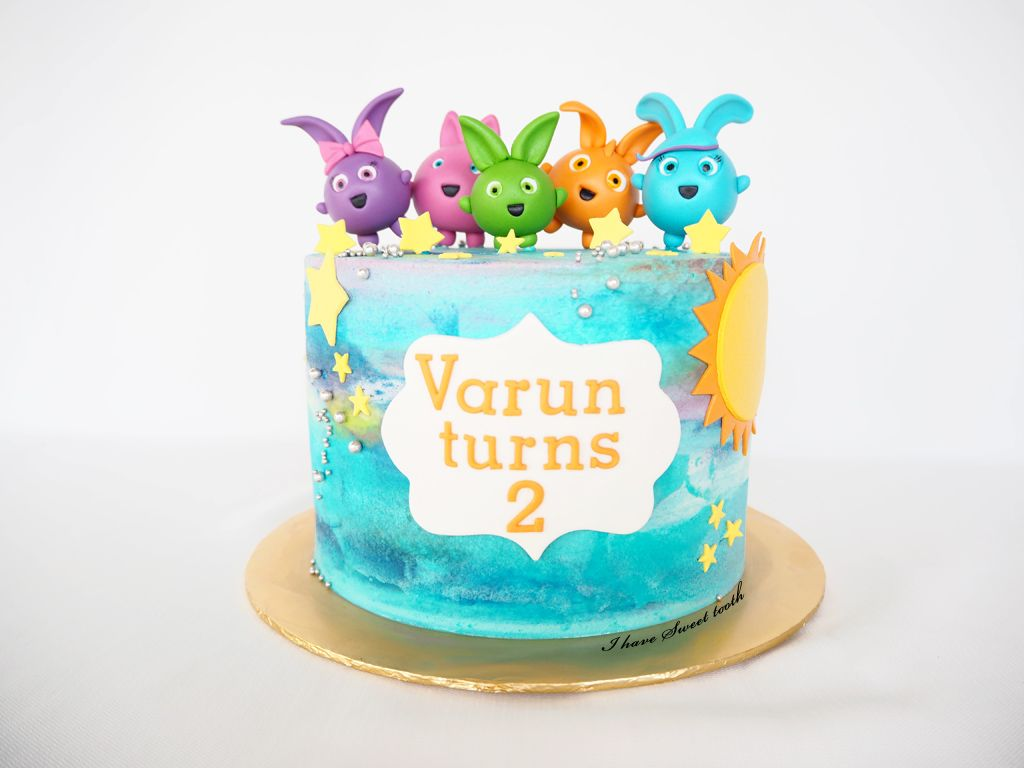 Sunny Bunnies Theme Ihavesweettooth Sunnybunnies Buttericing Bunny Birthday Cake Bunny Birthday Party Birthday Cakes Girls Kids