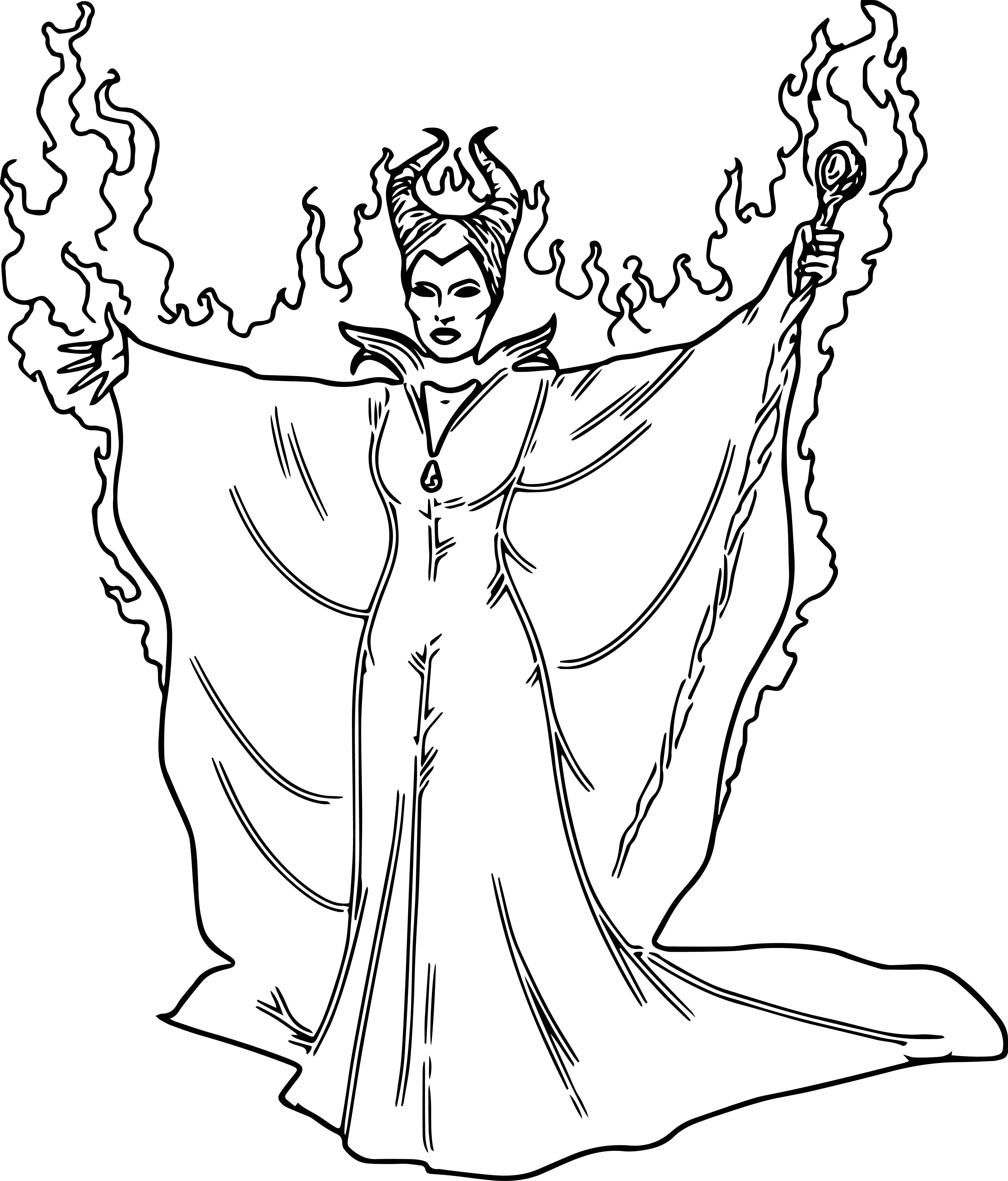 Disney Maleficent Coloring Pages Wecoloringpage Coloring Pages