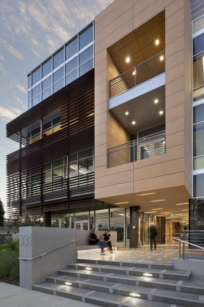 331 Foothill Road Office Building Ehrlich Architects 7 Office Building Architecture Building Design Modern Architecture