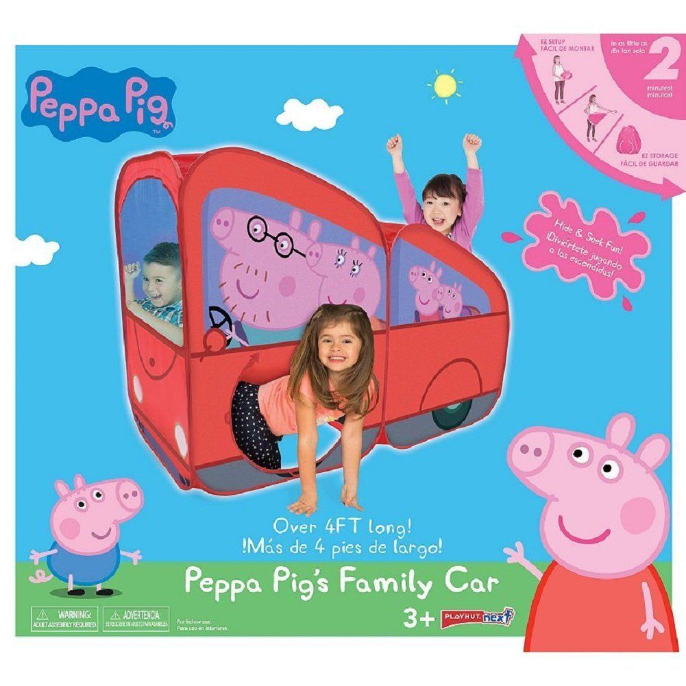 sports shoes d1480 63e32 Peppa Pig Play Hut Tent Tunnel Easy Set Up 4 Feet. Peppa Pig ...