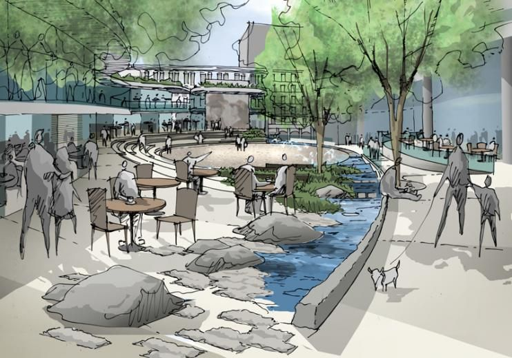 Seattle Civic Square Ramboll Group Landscape