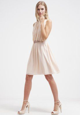 Kleid pastell apricot