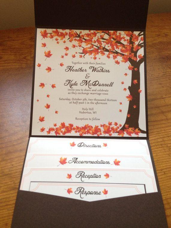 Fall Wedding Invitations Best Photos Ideas Para 15 Años