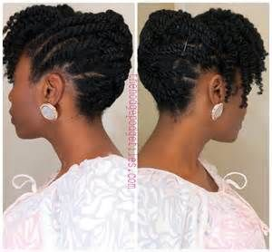 flat twist out on natural hair Bing Images en 2019