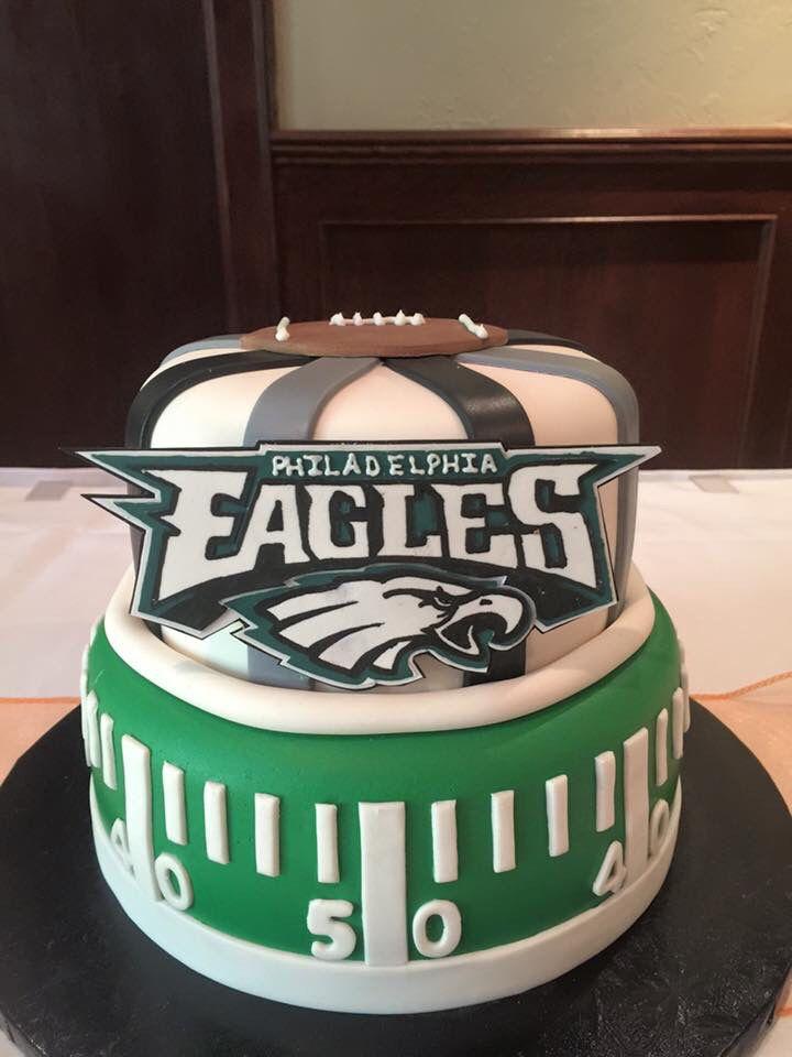Philadelphia Eagles Grooms Cake Arayphotookla Man Birthday Football Happy