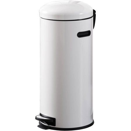 Better Homes And Gardens 30l Retro Trash Can White