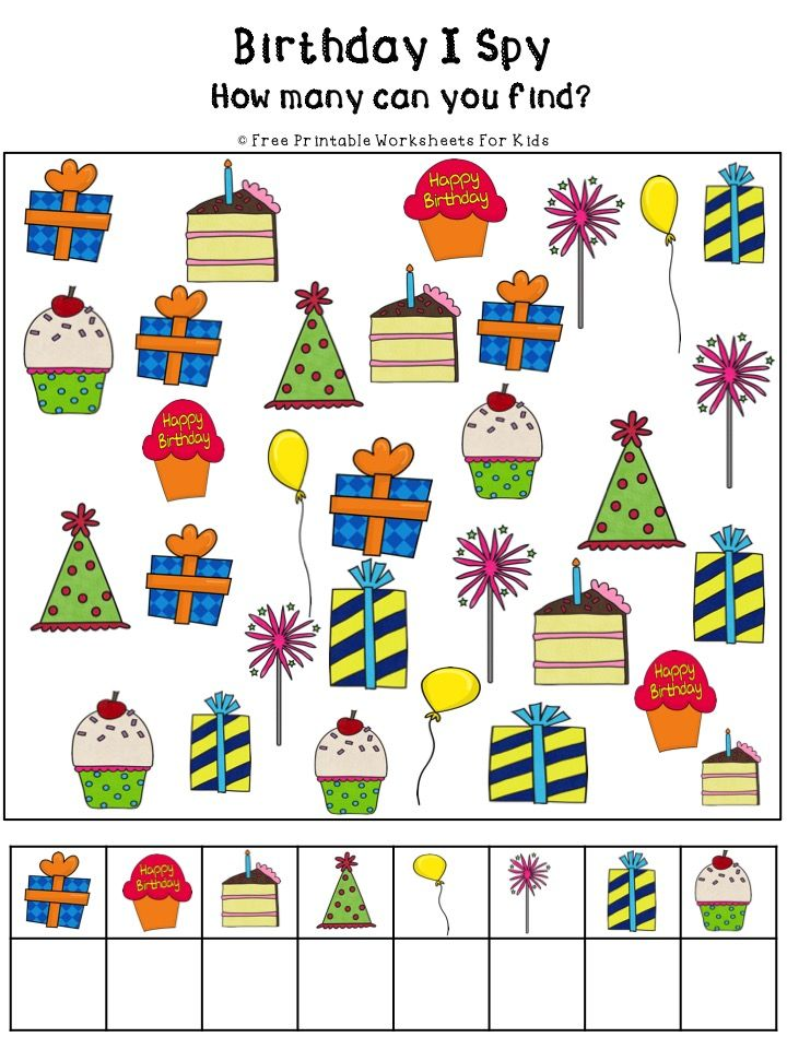 Photo of Birthday Activities Pack | Free Printable Worksheets For Kids