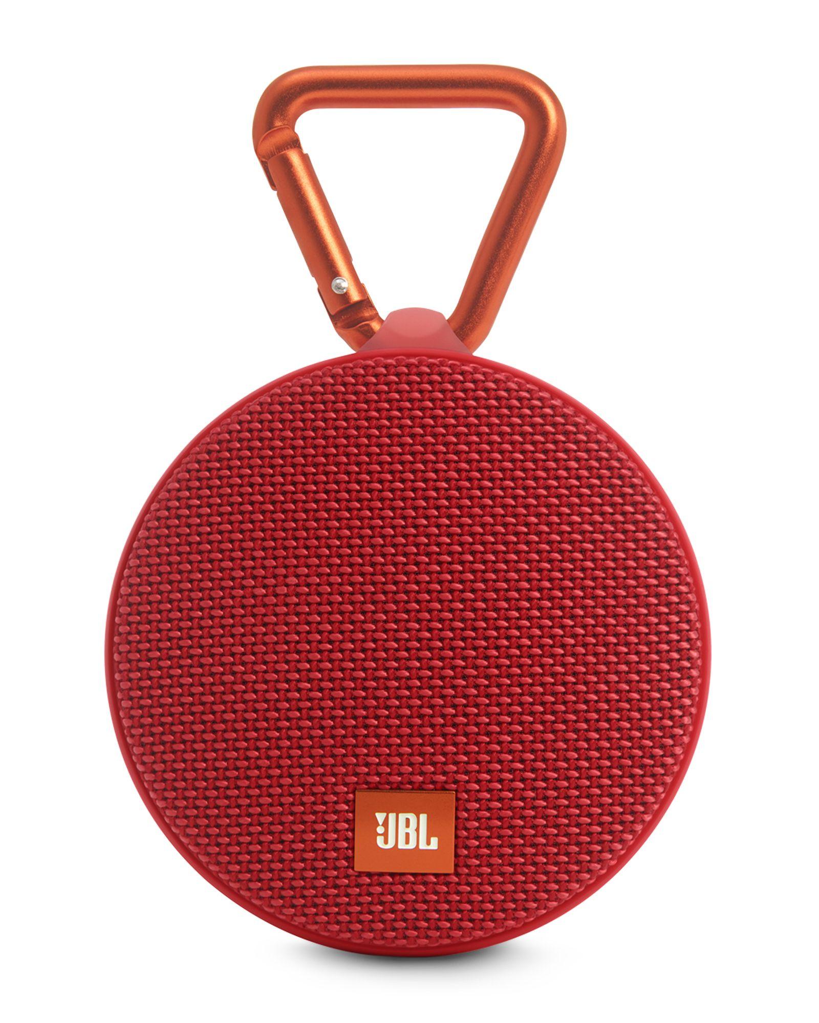 Jbl Red Clip 2 Portable Bluetooth Speaker | Bluetooth