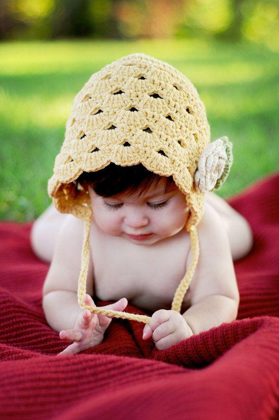 PDF Crochet Pattern Penelope Bonnet Permission to por UnravelMe ...