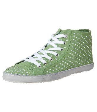 Francesco  Milano  Sneakers alte verde Prezzo  €80 -70% € 24 ... d85b5a211a4