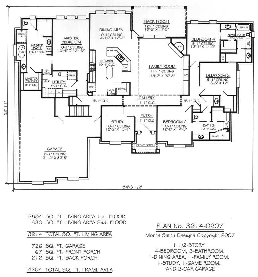 1 12 story 4 bedroom 3 bathroom 1 dining room 1