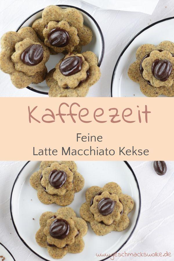 Schokolade trifft auf Kaffee: Latte Macchiato Kekse ⋆ Geschmackswolke