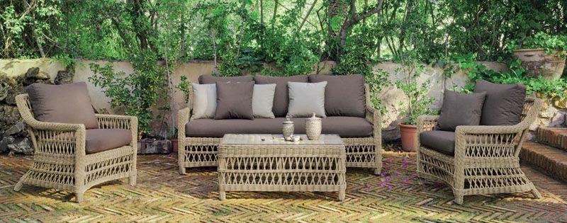 Salon De Jardin Hevea Cisne Resine Tressee Beige Naturel 4 5 Places Salon De Jardin Mobilier De Salon Meuble Jardin