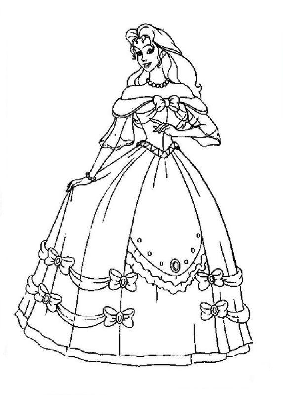 Fantastisch Barbie Malvorlagen Mode Kleid Ideen - Framing ...
