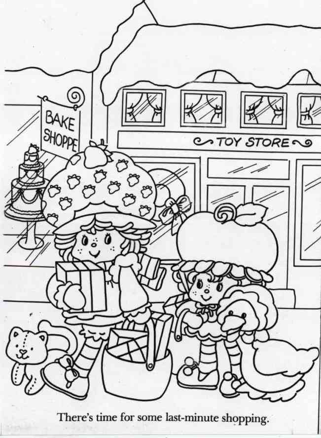 Custard, Strawberry Shortcake, Cherry Cuddler, and Gooseberry ...