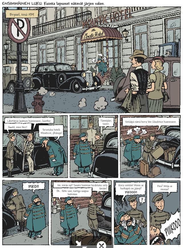 Pikon ja Fantasion uudet seikkailut 1: Nuoren sankarin päiväkirja. #egmont #sarjakuva #sarjis #piko #fantasio