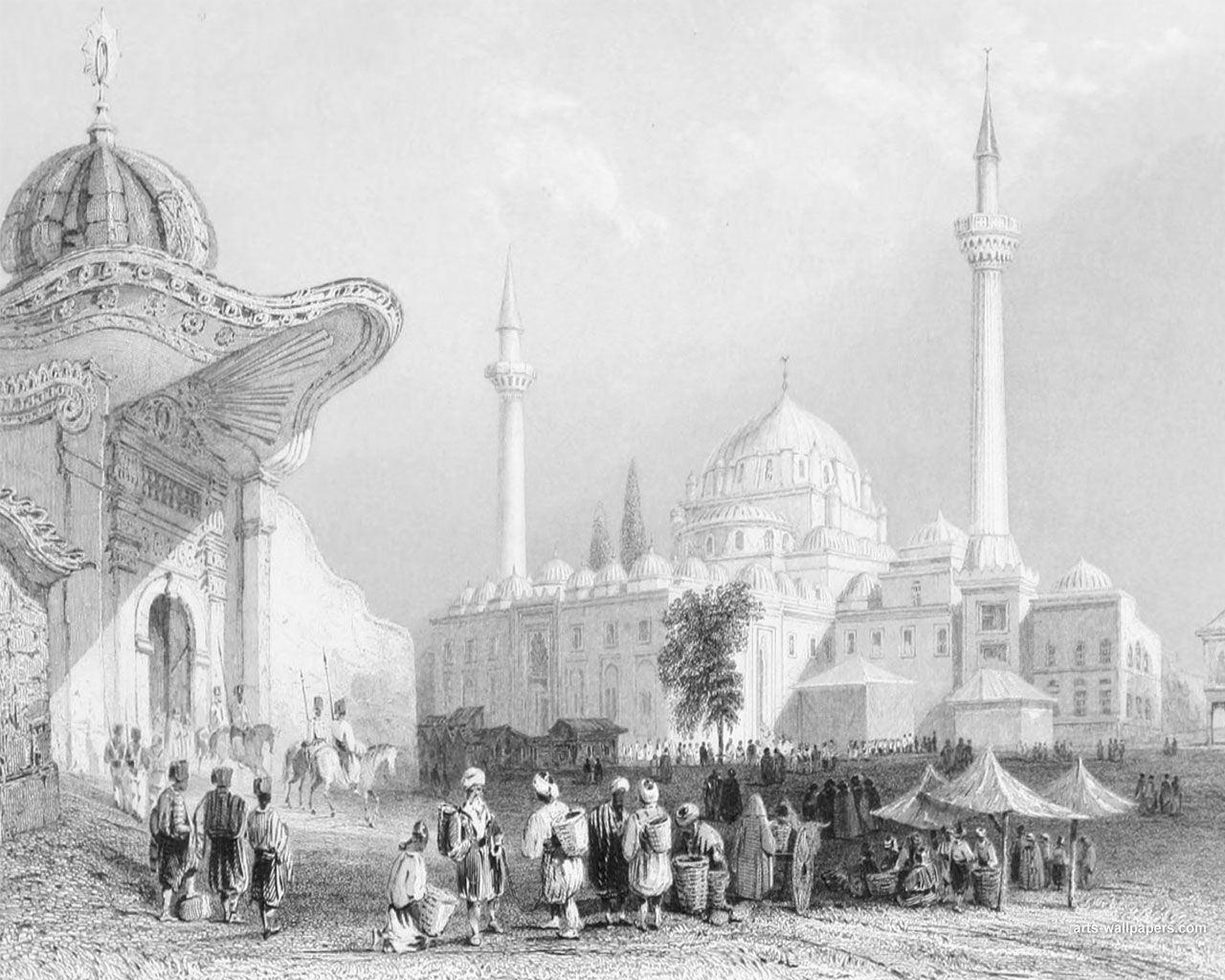 Ottoman Empire Paintings Ottoman Empire Wallpapers