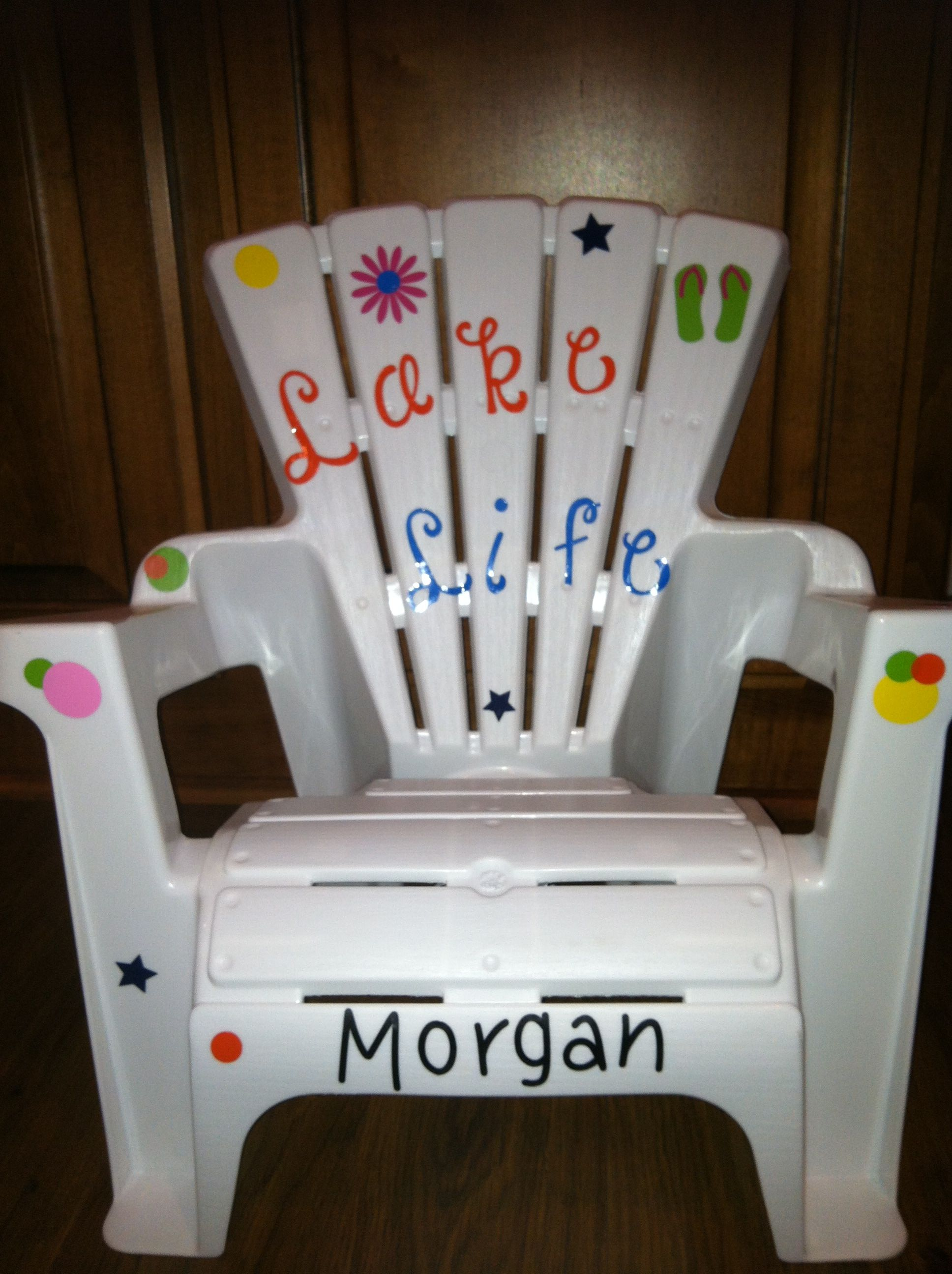 Personalized chair $16