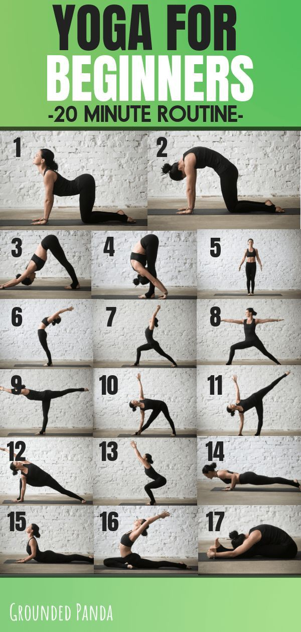 The 20 Minute Yoga Routine Every Beginner Needs Free Pdf Essential Yoga Poses Easy Yoga Workouts Yoga Routine For Beginners
