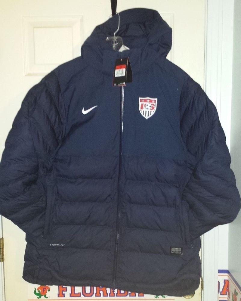 Nike Team USA Soccer Storm Fit Jacket Mens Large L NWT