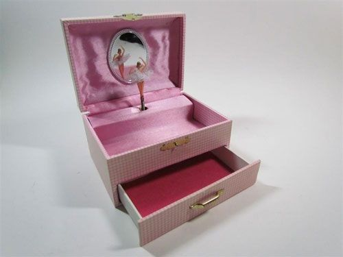 I think every little girl had to have a musical jewelry box with a