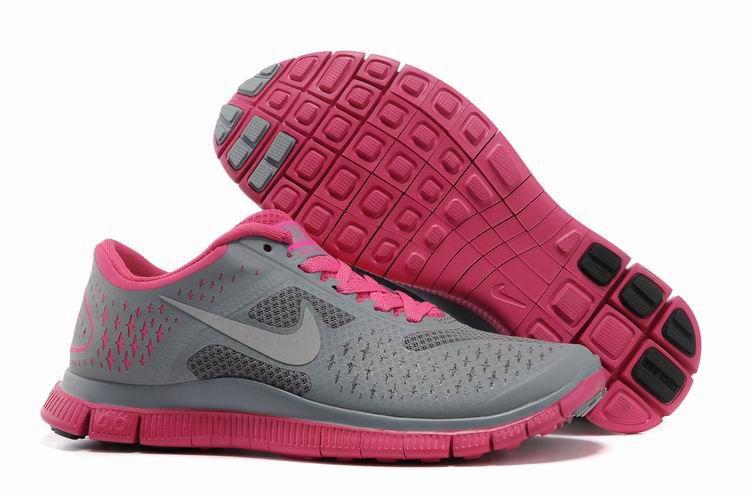 nike free grey sole shoe