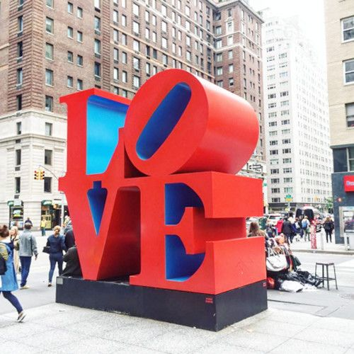 NYC's Love Sign - The Top Instagrammed Design Destinations In The U.S. - Photos