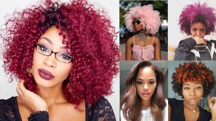 Couleur cheveux afro 2018
