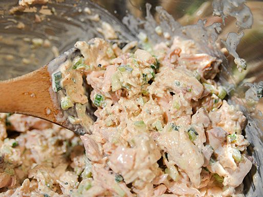Smoked Chicken Salad Recipe Serious Eats In 2020 Smoked Chicken Salad Chicken Salad Recipes Smoked Chicken
