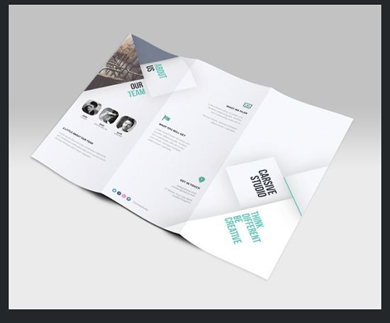 TriFold Brochure Templates Free Download Freebies - 5 fold brochure template