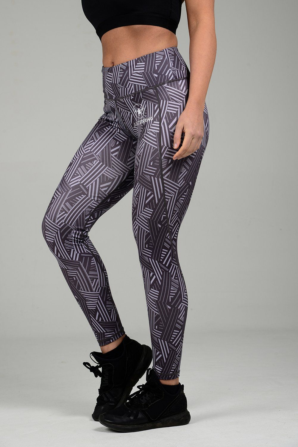 017942e678036 CHARCOAL CROSSLINE JUST STRONG LEGGINGS -  48.81 - Order now from  JustStrong. The women s performance