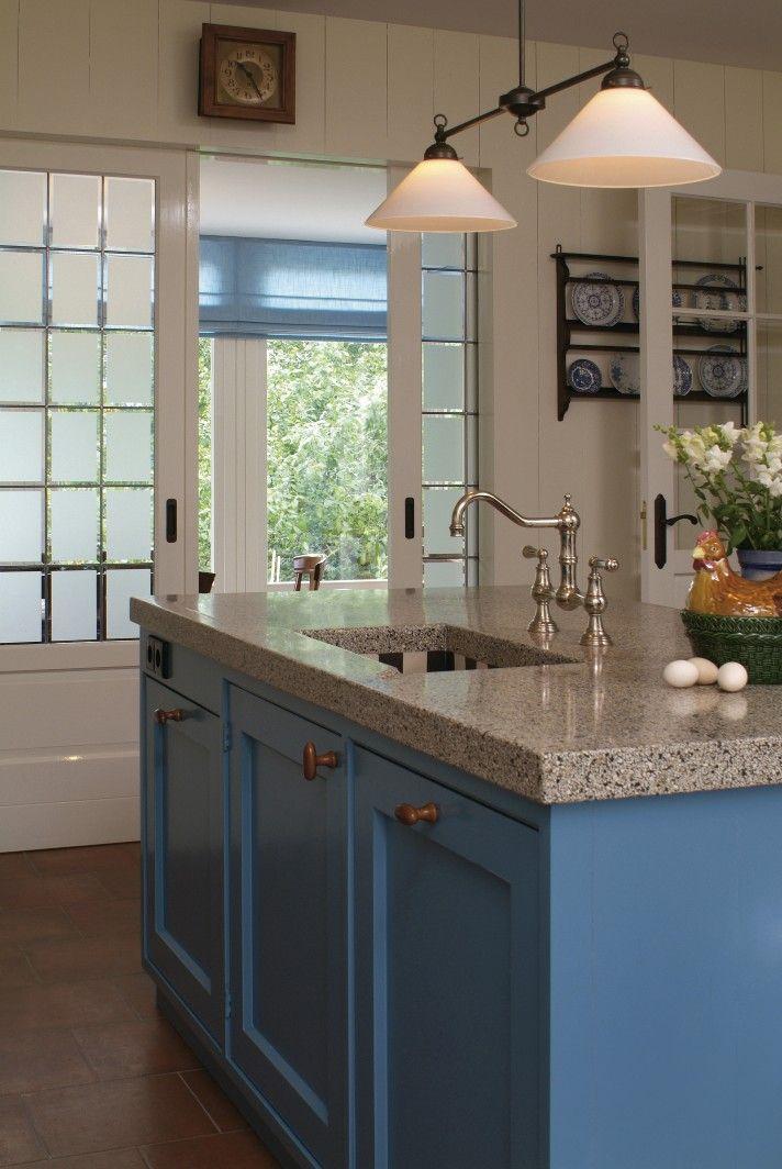 Handgemaakte keukens op maat de zeug keuken pinterest keukens keuken en - Deco land keuken ...