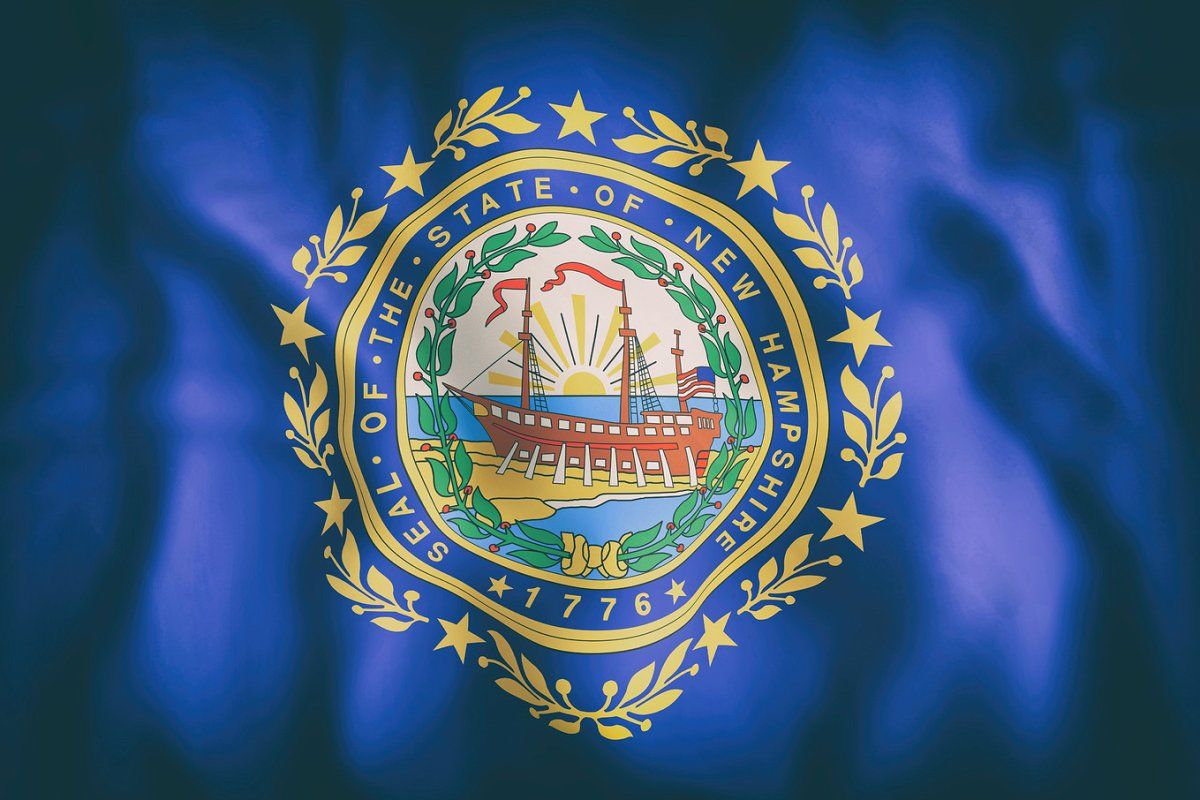 New Hampshire State Flag In 2020 New Hampshire State Flags States