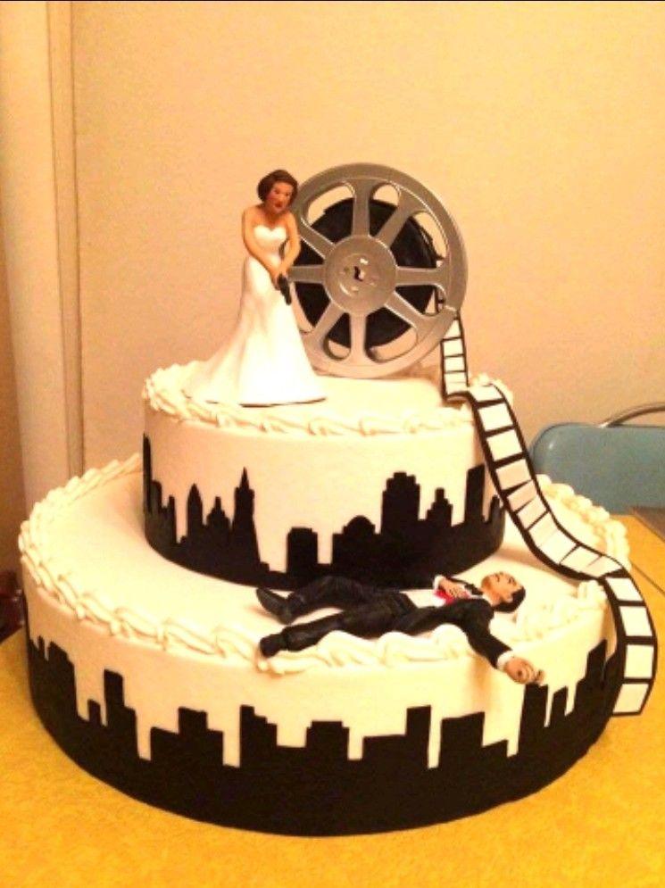 Film noir cake wedding cakes cake amazing cakes