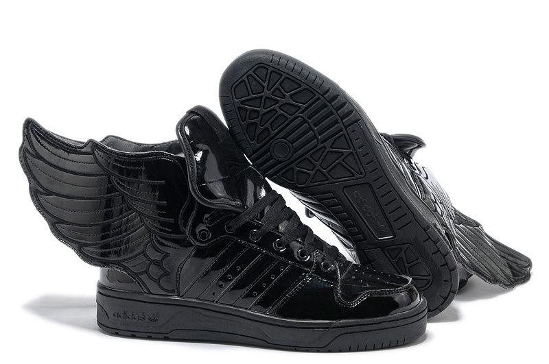 adidas jeremy scott black wings shoes