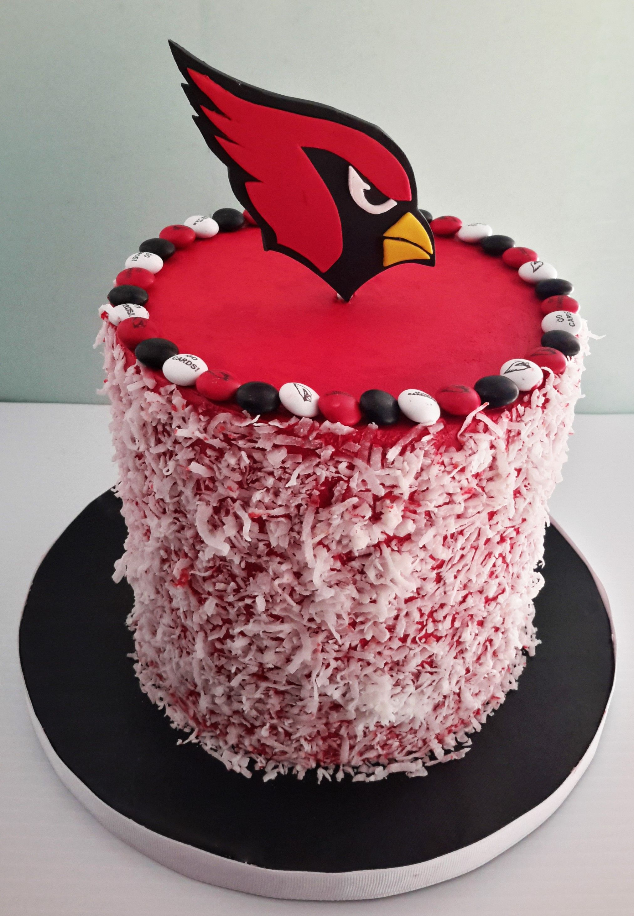 ea650282 AZ Cardinals cake. Go Cards! | Cakes in 2019 | Cake, Arizona ...