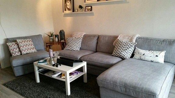KIVIK IKEA | Small room decor, Basement living rooms ...