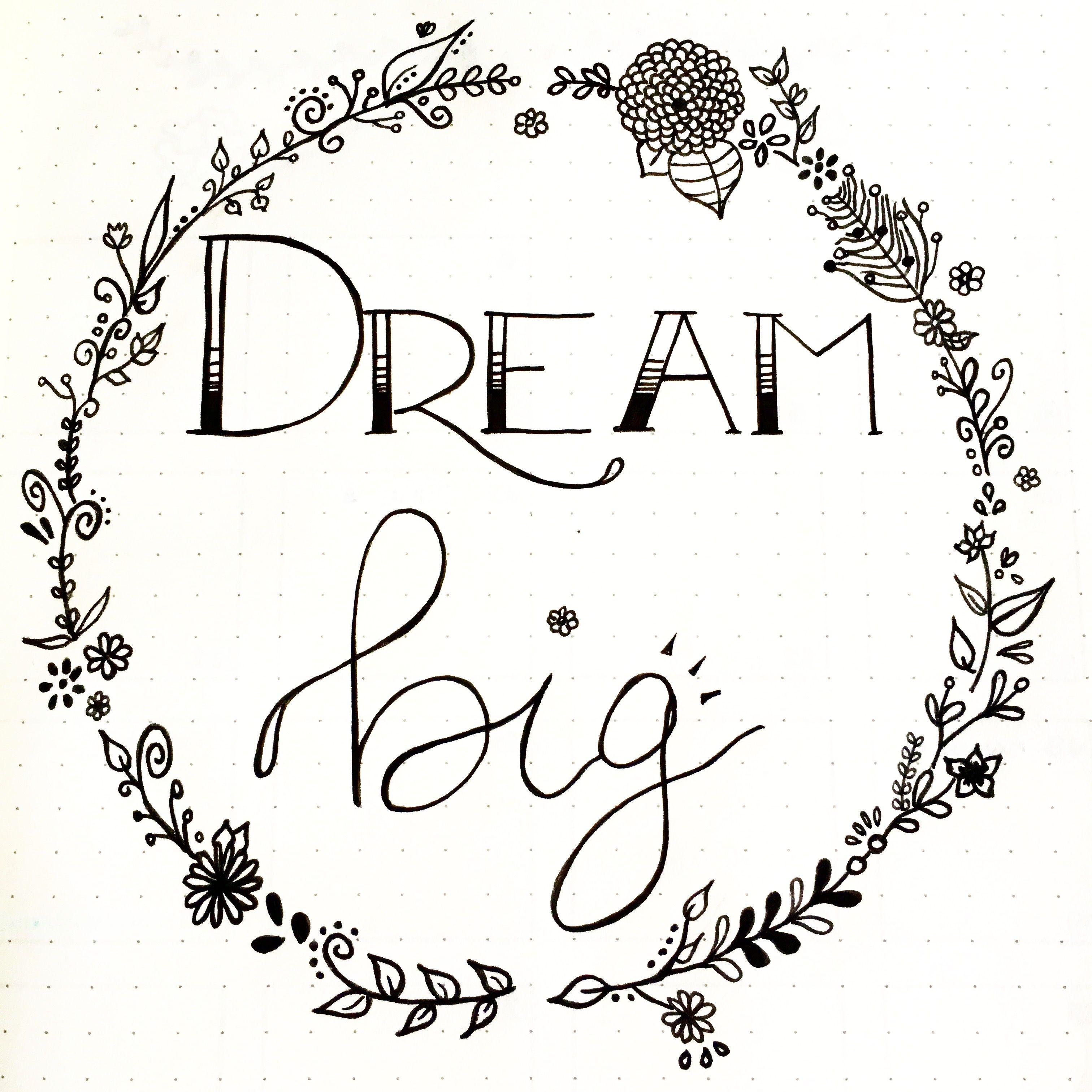 D co et mantra dream big insta lafilleaucarnet for Journal art et decoration