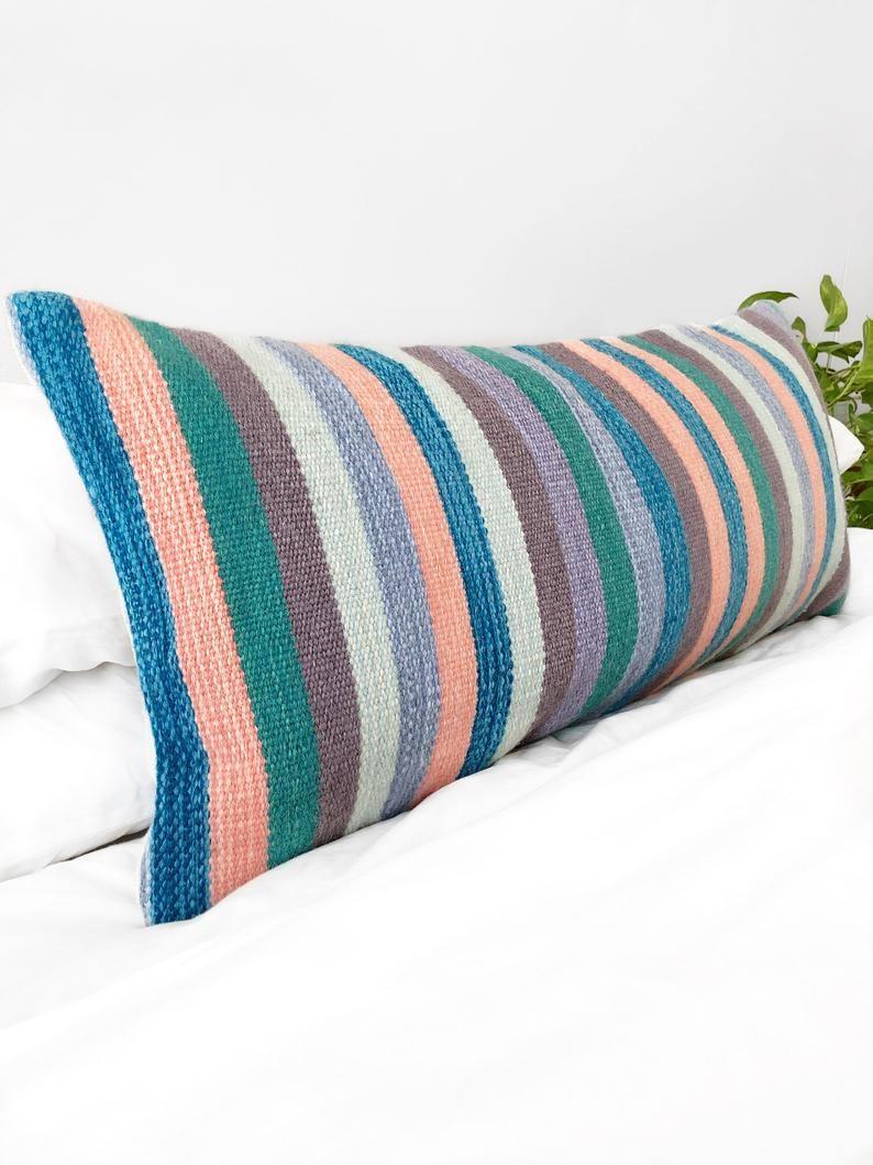 Lumbar Pillow Cover Colorful Throw Pillow Bohemian Throw Etsy Bohemian Throw Pillows Boho Throw Pillows Colorful Throw Pillows