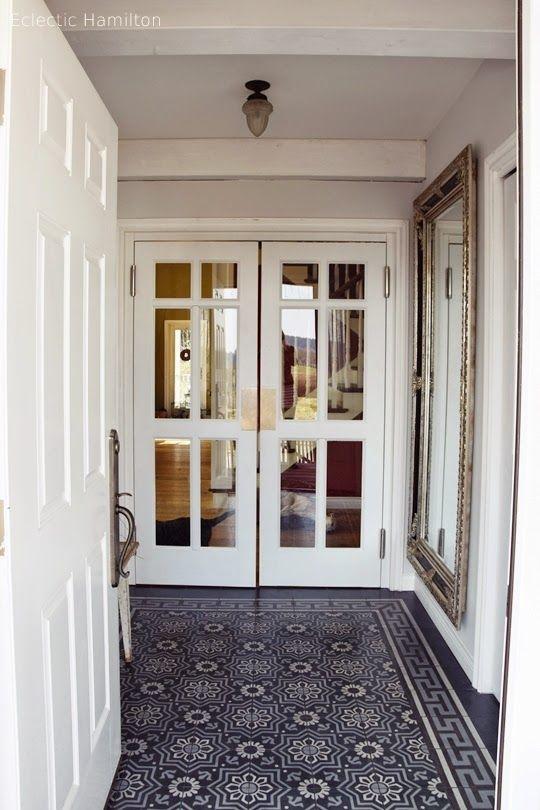 hereinspaziert in meine diele tiles pinterest diele haus und treppenhaus. Black Bedroom Furniture Sets. Home Design Ideas