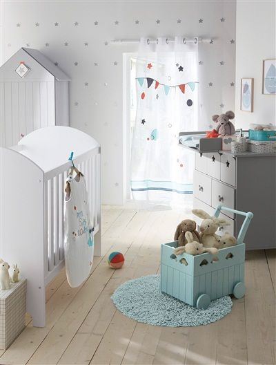 Baby Walker Toy Box by Vertbaudet | Nursery | Chambre bébé ...