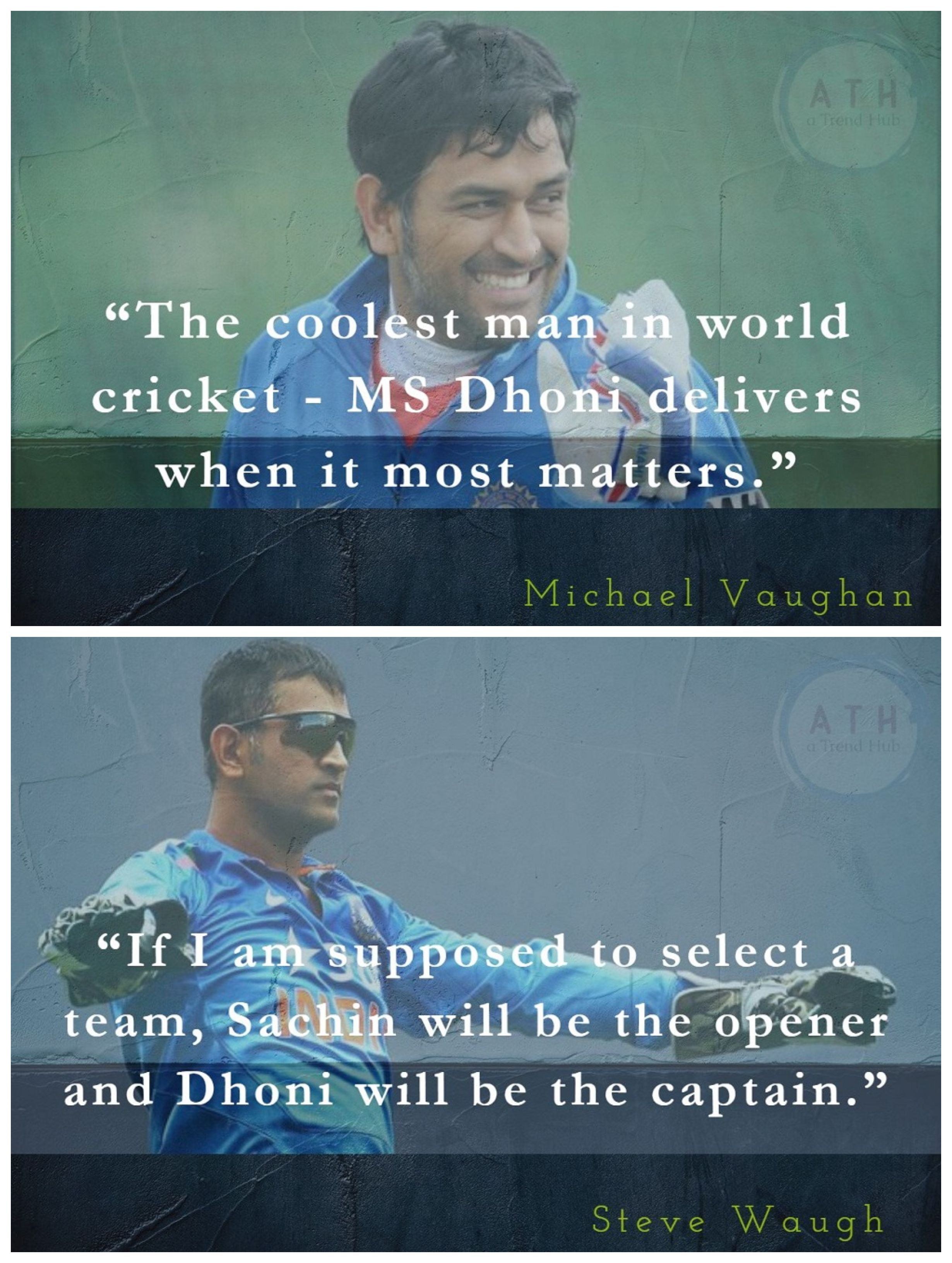 13 Awesome Quotes On Ms Dhoni Which Perfectly Describes How Legendary Ms Is Dhoni Quotes Player Quotes World Cricket